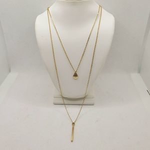 I.n.c. High-Low Layered Pendant Necklace